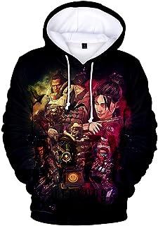 Bettydom Fashion Apex Hoodie Game Topic Apex Legends Sweatshirt for Men Women Teen