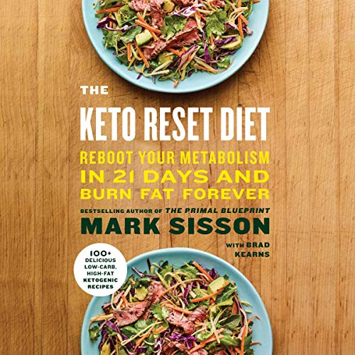 The Keto Reset Diet audiobook cover art