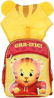 Daniel Tigers Neighborhood Backpack for Kids Boy Hooded Wearable 14 Back Pack