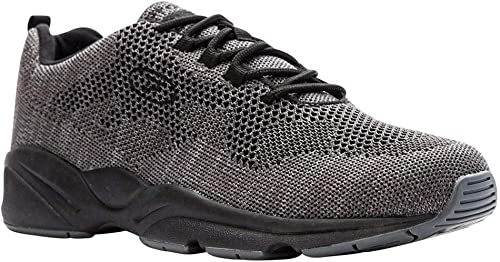 Propet Men's Stability Fly Turnzapatos, gris, 9.5 XX-Wide