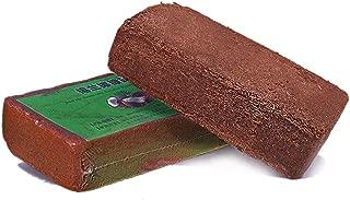 Coir Brick Organic Coconut Fiber Compressed Growing Medium Potting Soil for Seedlings,Rooting,Vegetables,Berries,Roses,Orchids,House Plants (1 pc)