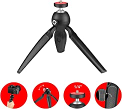 Joby Handypod Mini Tripod and Handgrip for DSLR, Mirrorless CSC and Compact Cameras, LED Lights, Microphones, Portable Speakers, Action Cameras and Accessories Up to 2.2lbs (JB01555)