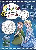 Frozen. Luces de invierno. Coloreo mi historia de película (Disney. Princesas)