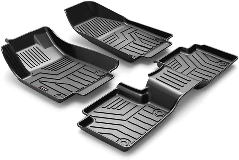 SUPER LINER All Weather Floor Mats for 2016-2021 Jeep Grand Cherokee NOT for Jeep Cherokee -Custom Fit Car Floor Mats Cargo Liner Rear Cargo Tray Trunk Waterproof Interior Accessories