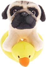 Claire's Doug The Pug Girl's Doug The Pug Small Duck Float Soft Toy - Cream