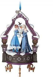 Olafs Frozen Adventure Singing Sketchbook Ornament