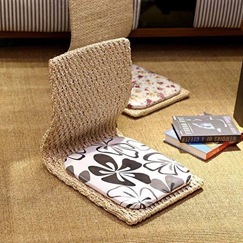 Einfacher Strohstuhl, Tatami Balkon Erker Fenster Wohnzimmer fauler Stuhl