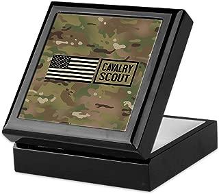 CafePress-U.S. Army: Cavalry Scout (Camo)-Keepsake Box