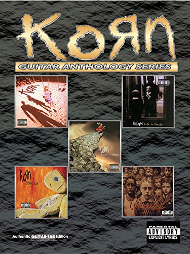 Korn -- Guitar Anthology: Authentic Guitar TAB