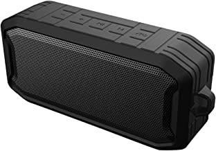 Portable Bluetooth Speaker with 10W Stereo Sound, Bluetooth 5, Bassup, Waterproof, 8-Hour Playtime, Wireless Stereo Pairin... photo
