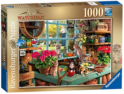 Ravensburger 19552'Is He Watching Jigsaw Puzzle, Multicoloured