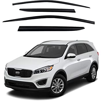 AVS Vent Visors Window Deflectors Rain Guards for 2016-2019 Kia Sorento