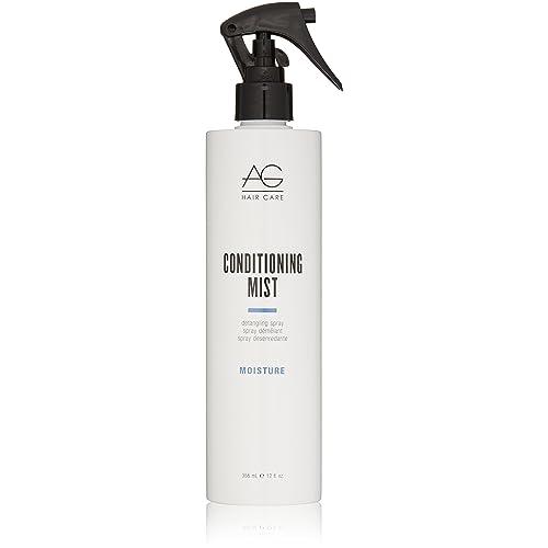 AG Hair Moisture Conditioning Mist Detangling Spray, 12 Fl Oz