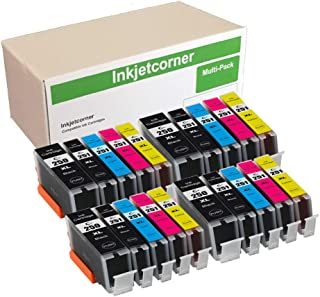 Inkjetcorner Compatible Ink Cartridges Replacement for PGI-250 XL CLI-251 XL for use with MX922 MG5520 MG5522 MG6420 MG5420 MG5422 MX722 (20 Pack)