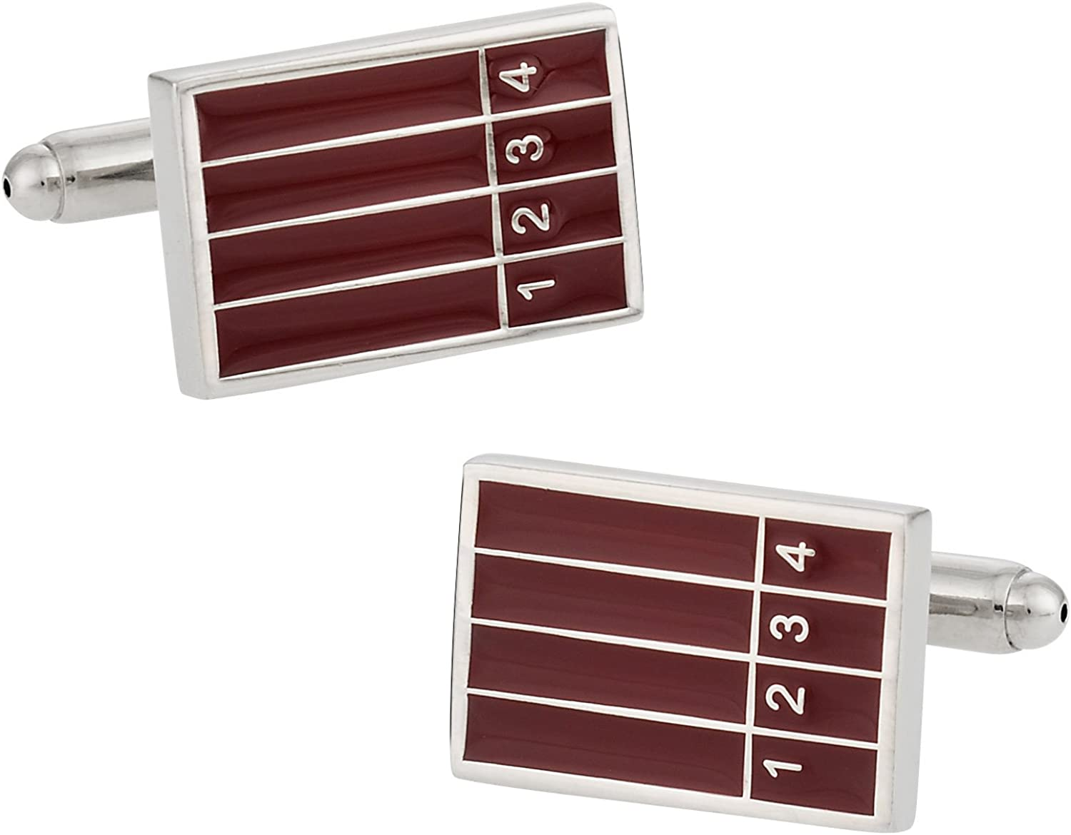 Track and Field Running Cufflinks by Cuff-Daddy