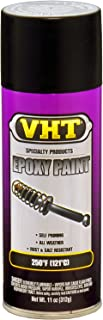 VHT (SP652-6 PK Satin Black Epoxy All Weather Paint - 11 oz. Aerosol, (Case of 6)