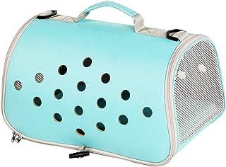 Pet Rucksack Traveling Portable Pet Bag, Portable Cat Backpack, Breathable Design Camping Carry Bag (Color : Green)