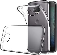 Soft TPU Transparent Fit Protector Case for Motorola Moto G5S Plus, Anti Slip, Scratch Resistant