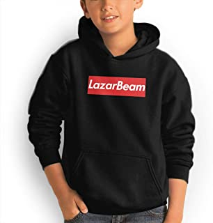 Lazar-Beam YouTube Teenagers'Hat-Pocket Garments Hoodie Youth