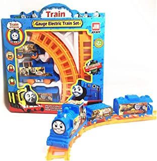 Electric power Rushed Trains Cars Kids Toys Thomas Train Set And Electric Track Toy Small Splicing Rail