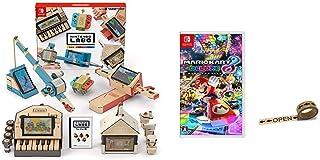 Nintendo Labo (ニンテンドー ラボ) Toy-Con 01: Variety Kit - Switch + マリオカート8 デラックス - Switch (【Amazon.co.jp限定】オリジナルマスキングテープ 同梱) セット