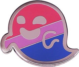 COLORFULTEA Bisessuale Pride Flag Spilla Spilla Distintivo Pansessualità Accessorio per Gioielli LGBT Gay