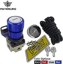 PQYRACING T2 Universal Manual Gauge Turbo Boost Controller 1-150 PSI SR20DET SR (Blue)