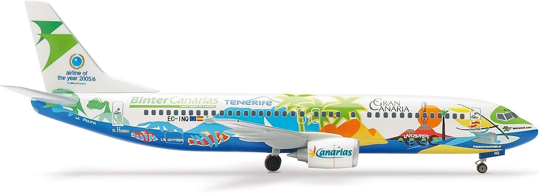 Herpa 551960 - Binter Canarias Boeing 737-400