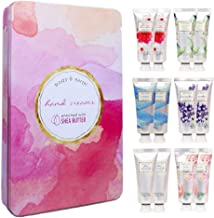 Hand Cream Gift Set, BODY & EARTH Hand Lotion for Dry Hands, Moisturizing with Shea Butter, 12pc Travel-size, Best Gifts Idea for Women
