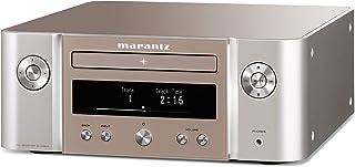 Marantz - Sistema de Red Hi-Fi Melody X (M-CR612), Color Negro Sistema de Red Hi-Fi Plateado/Dorado