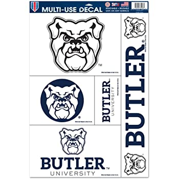WinCraft NCAA Butler University Perfect Cut Color Decal 4 x 4
