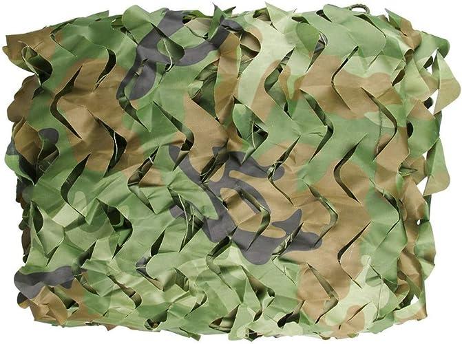 F-S-B FiletFilet de Camo, Tissu d'Oxford de Filet de Camo de Peau idéal pour la décoration de Partie de Camping de Tente de Parasol,5  10m