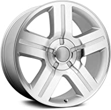 Wheel Replicas V1177 Silver Wheel with Machined Face (24x10