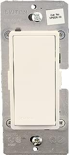 Leviton VP0SR-10Z, Vizia + Digital Coordinating Remote Switch, 3-Way or more applications, White/Ivory/Light Almond