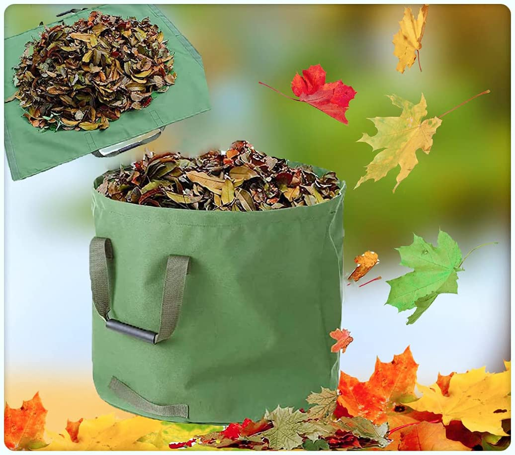 Reusable Direct stock discount Gardening Bags Heavy Duty Fallen Leaves Storage for Max 88% OFF and