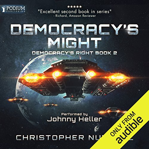 Democracy's Might audiobook cover art