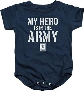 Army My Hero Baby Onesie Bodysuit