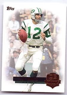 Joe Namath 2012 Topps QB Immortals #QI-JN - New York Jets