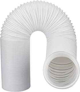 Abigoa Exhaust Hose for Portable Air Conditioner | Premium 5 Inch Diameter Universal Size | 79 Inch Extra Long | Counterclockwise Thread | Portable Room AC Units Vent Hose