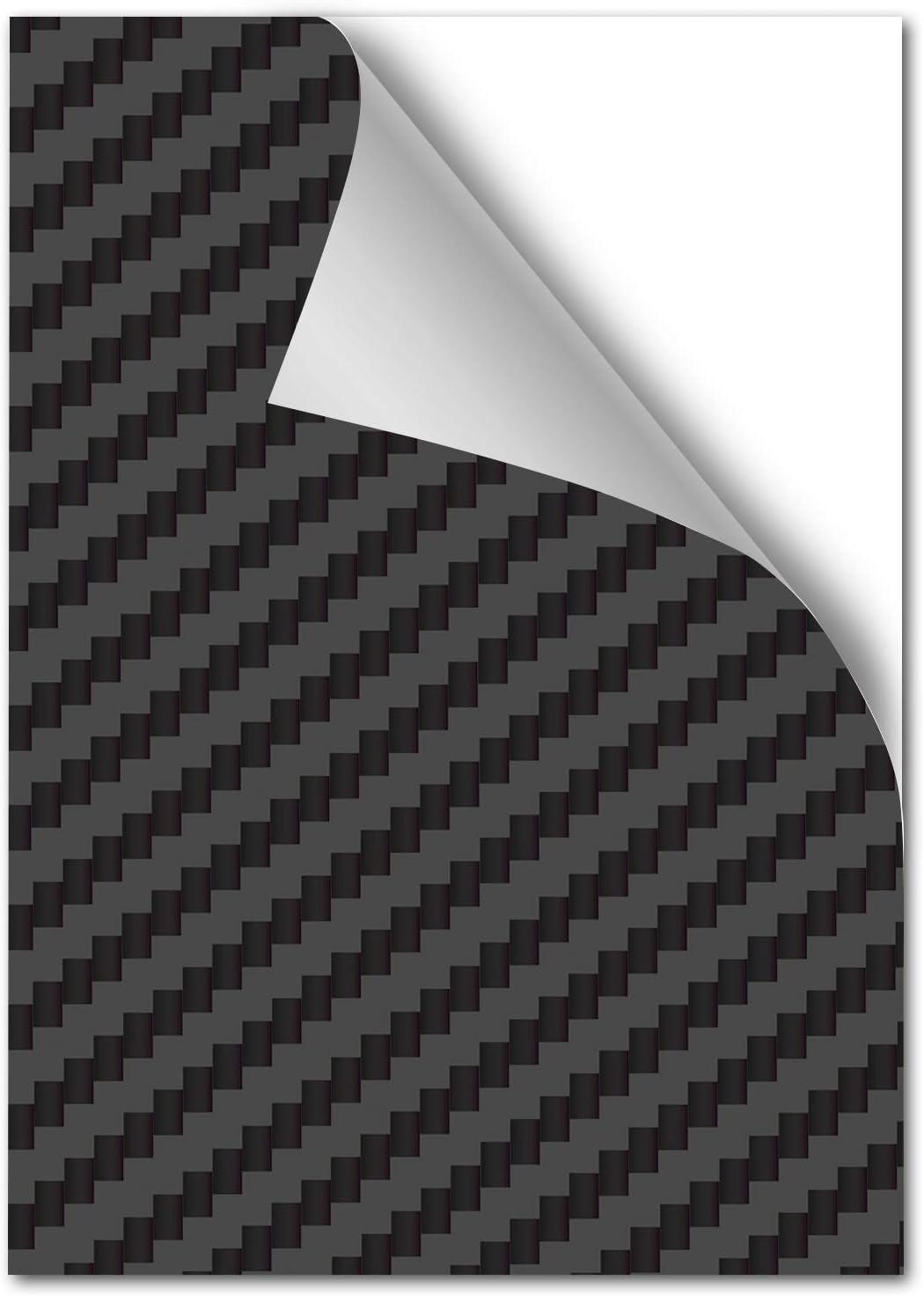 Alphashield 48 23 M Lackschutzfolie Din A4 Format 21x29cm Für Kfz Auto Motorrad Bike Fahrrad Roller Selbstklebend Lack Schutz Vor Steinschlag Folie Carbon 1 X Din A4 Auto