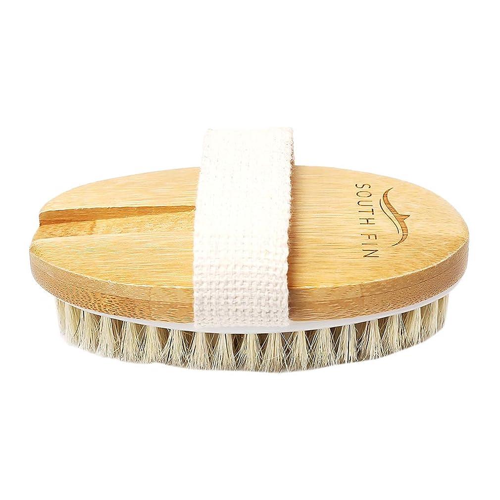 長老流レジデンスPerfeclan ボディブラシ バスブラシ オーバル ブラシ クレンジングツール 柔らかい剛毛 頑丈 使いやすい