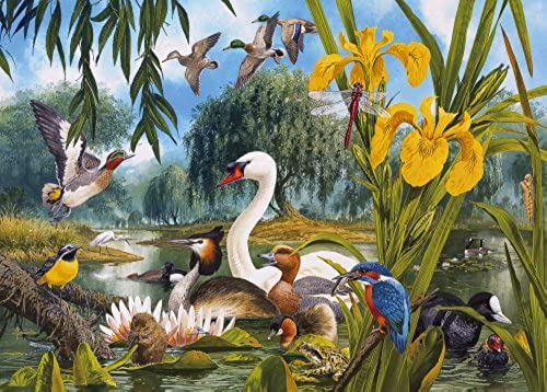 Gibsons Swan Lake jigsaw puzzle. (1000 pieces) [Toy] by Gibsons