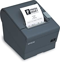 Epson TM T88V - Receipt Printer - B/W - Thermal line - Roll (3.15 in) - up to 708.7 inch/min - Serial, USB