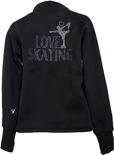 Ice Figure Skating Jacket Blue Pink Purple Green VJ2 Skater Love Skating