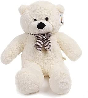 yunnasi oso de peluche gigante 100cm, color blanco