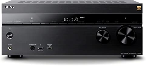 Sony 7.2 Channel Hi-Res Wi-Fi Network 4K AV Receiver (STRDN1070)
