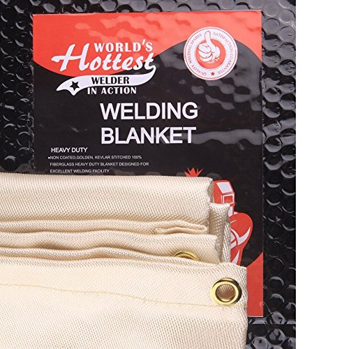 Tonyko/® Thick Fiberglass Welding Blanket and Fire Blanket 39/×39 inches 2 pounds