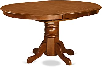 POT-SBR-TP Oval Dining Table with 18
