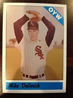 1983 Fritsch One Year Winners 116 Mike DeGerick Chicago White Sox 1961 1962