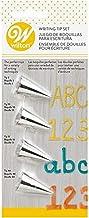 Wilton 4-Piece Set, 0.8 x 2.2 x 6.8 Inches, silver